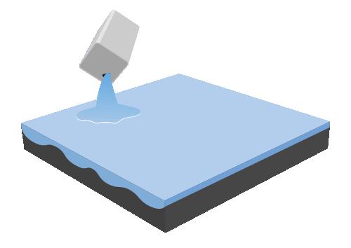 塗る防水 イメージ